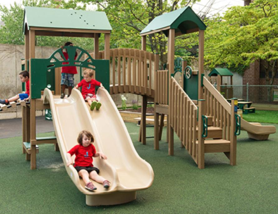 Nature of Early Play Kids Playground Equipment