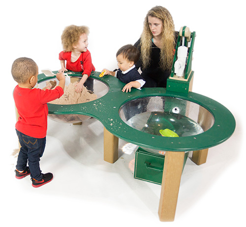 Nature of Early Play Kids Playground Table