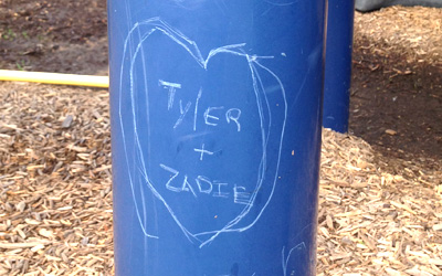 Nature of Early Play Playgrounds Graffitti Resistant