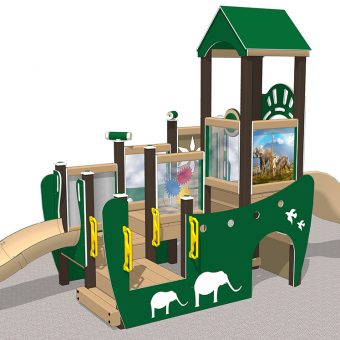 Noah's Ark Manufactured playground playset | Nature of Early Play