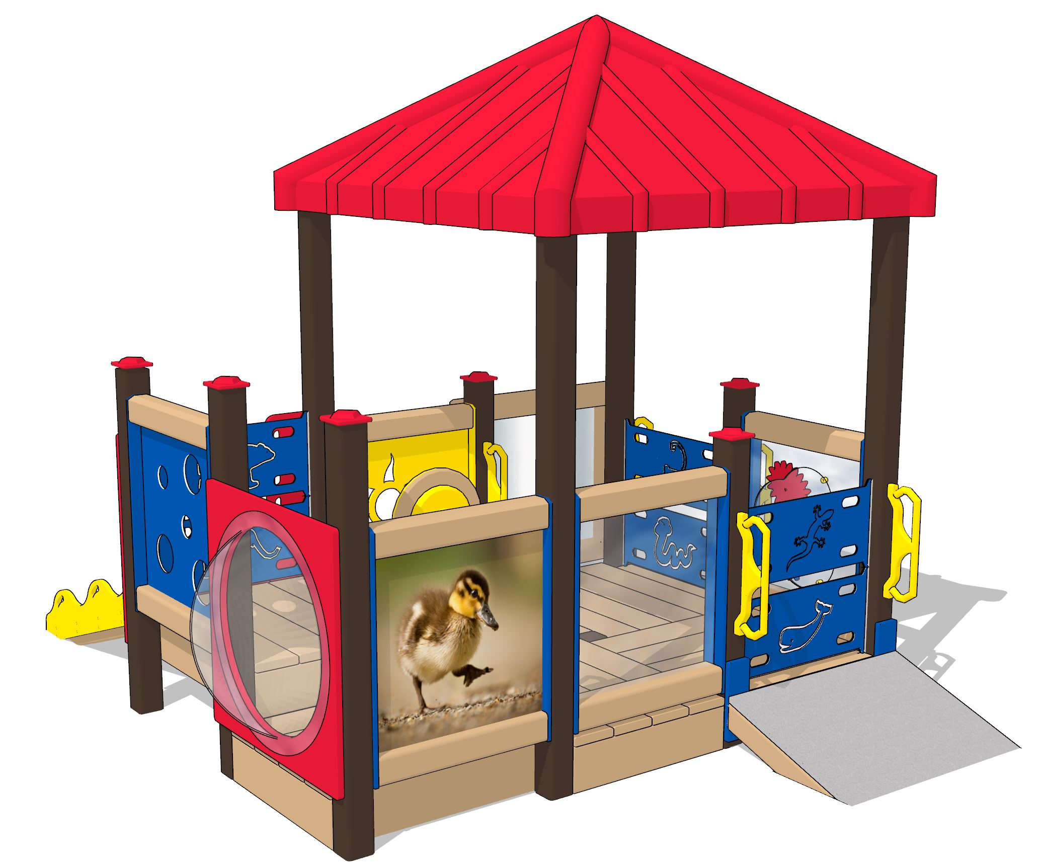 Ducky Playset | Age-Appropriate Kids Playset