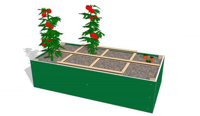 Raised Garden Bed for the Playground | Nature of Early Play