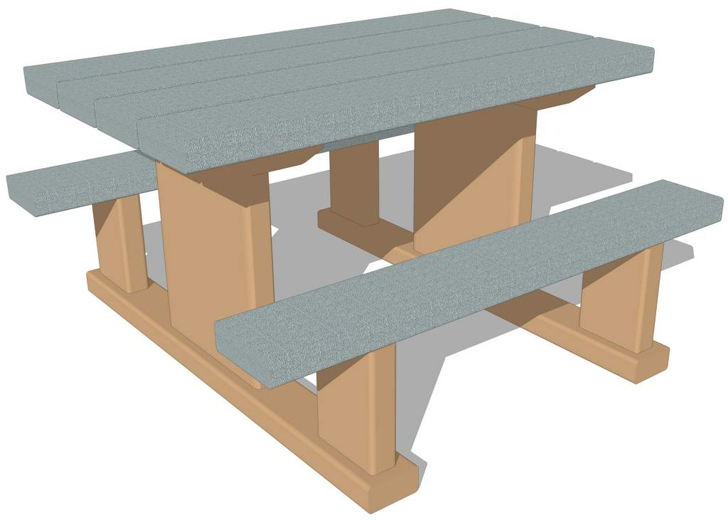 Picnic Table 4 Nature Of Early Play Inc
