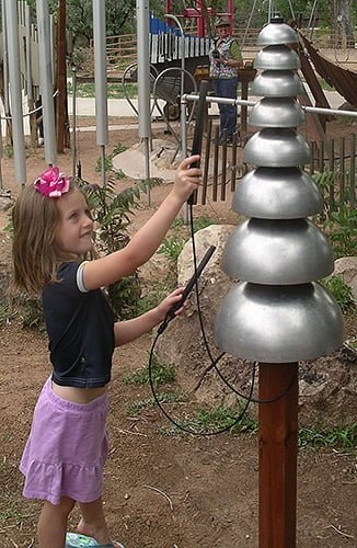 Pagoda Bells for the Playground | Nature of Early Play