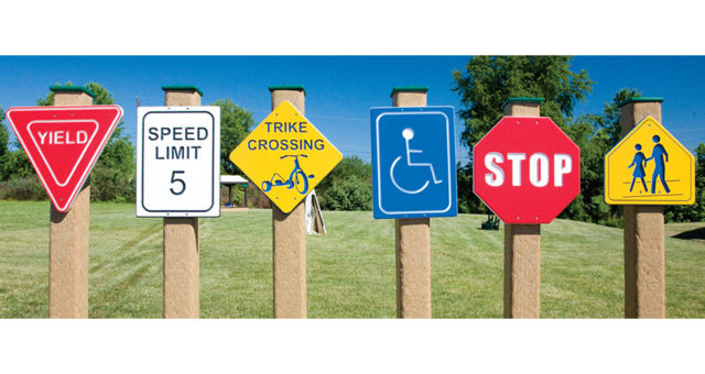 Trike Traffic Signs   Nature of Early Play