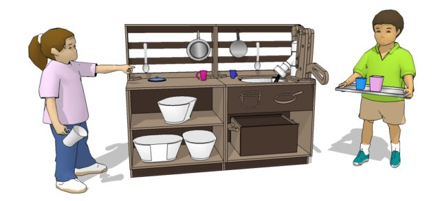 UltaMud Kitchen Playground Play Set | Nature of Early Play