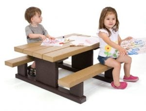 Tables and Seating | Nature of Early Play Playground Equipment