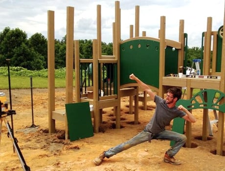 Nature of Early Play | Playground Installation