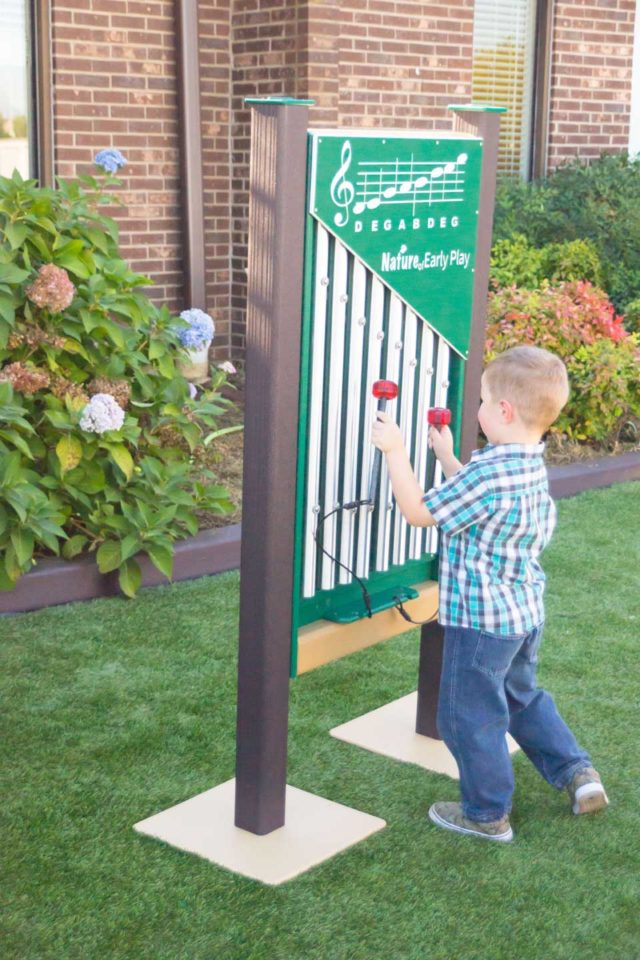 Nature of Early Play Chime Panel