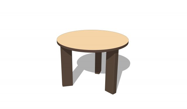 Round Stacking Table | Nature of Early Play