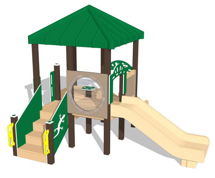 Nature of Early Play Playground Equipment_Nature Rocks Color Palette