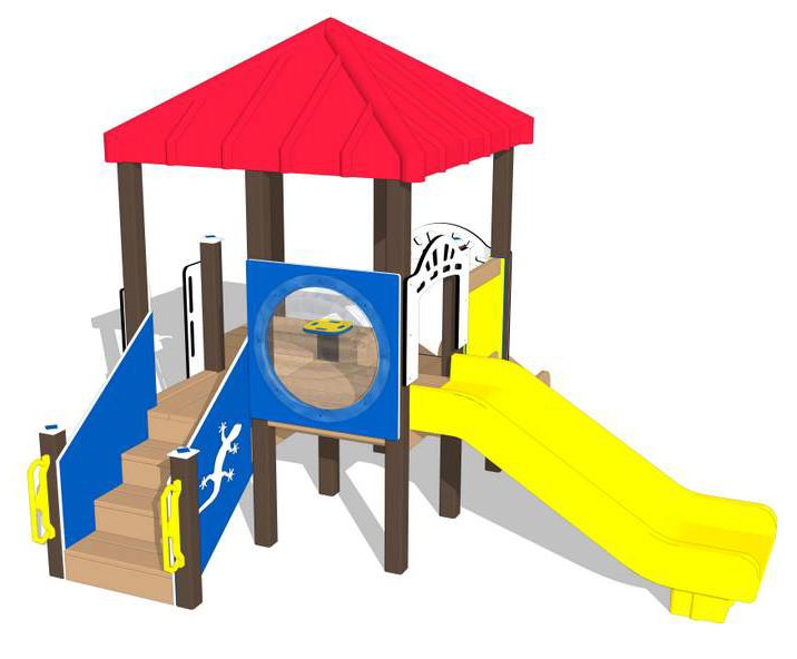 Nature of Early Play Playground Equipment_Primary Color Palette