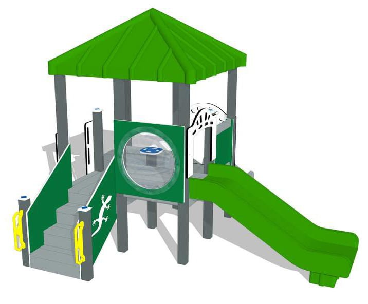 Nature of Early Play Playground Equipment_Spring Color Palette