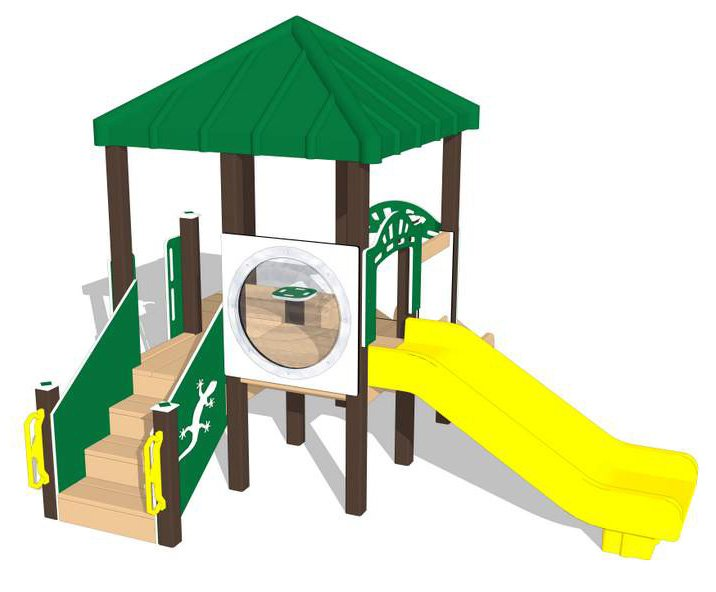 Nature of Early Play Playground Equipment_Summer Color Palette