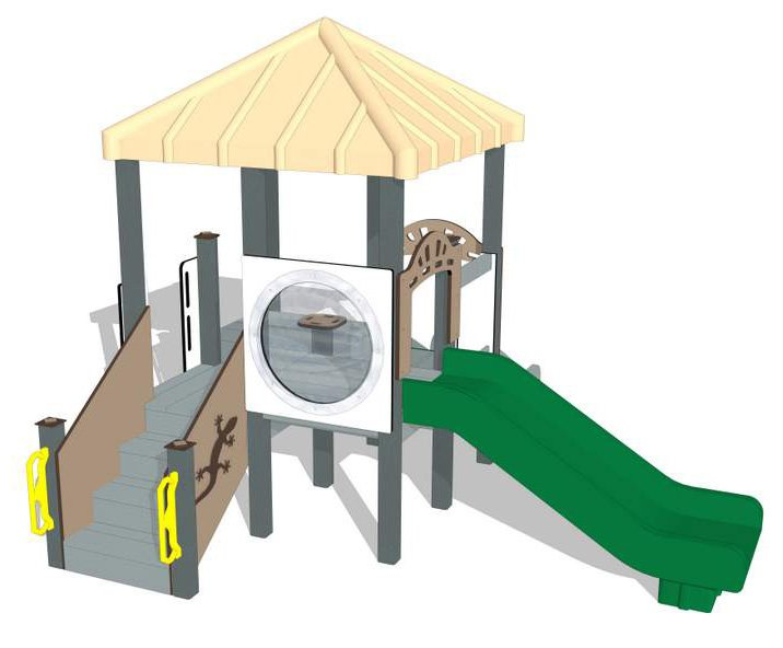 Nature of Early Play Playground Equipment_Thyme Color Palette