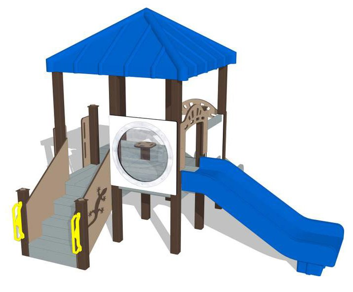 Nature of Early Play Playground Equipment_Winter Color Palette