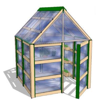 Recycled Plastic Greenhouse | Nature of Early Play
